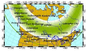 where are the northern lights visible aurora alert northern lights may be visible tonight post mortem
