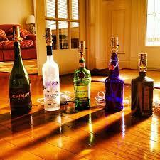 Lamps Made From Bottles 98 Best Lamps Bottle Lamps Images On Pinterest Liquor Bottle