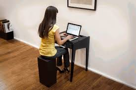 Small Desk Speakers Compact Multimedia Laptop Desk With Built In Speakers System