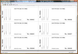ticket sample free test templates