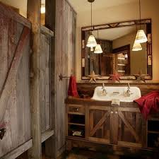 Rustic Bathroom Ideas Popular Of Rustic Bathroom Lighting Ideas Related To Interior