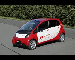 mitsubishi car 2008 mitsubishi i miev electric car 2009