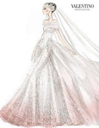 valentino wedding dress sketches pinterest valentino couture