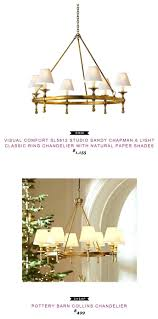 White Chandelier With Shades Ceiling Lights Pottery Barn Ceiling Light Fixtures White