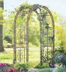 wedding arch rental jacksonville fl steel scroll finial garden arbors gardening backyard