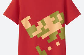 themed shirts nintendo partnered with uniqlo for a collection of themed shirts