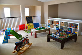 kids room decor colorful kids game room ideas white shelves
