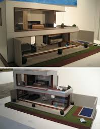 Free Miniature Dollhouse Plans Beginner by Playful Minitecture 15 Ultra Modern Dollhouse Designs Urbanist