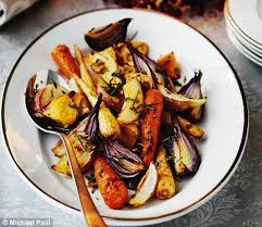 Recipes For A Dinner Party - delia smith u0027s totally different christmas recipes roasted roots