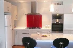 Kitchen With Red Appliances - kitchen ideas takapuna kitchenvision
