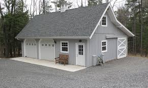 car barn style gambrel roof garage loft plans home plans