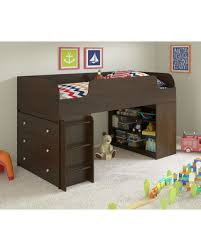 get the deal ameriwood cherry loft bed with dresser u0026 bookcase
