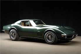 1969 l88 corvette for sale the top 10 corvette sales of barrett jackson s 2013 scottsdale