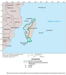 Madagascar Map Madagascar Exclusive Economic Zone Eez