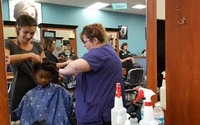 fresh look topeka silverbackks provide free haircuts for kids