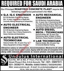 electrical engineering jobs in dubai for freshers qa qc engineer auto mechanical engineer auto electrical engineer