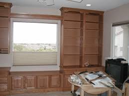who builds window seats floor panel counter top paint home oak