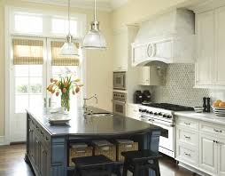 black granite kitchen island blue kitchen island transitional kitchen berkley vallone