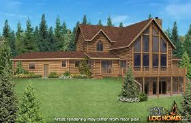 Water View House Plans Golden Eagle Log And Timber Homes Floor Plan Details Waterview 2