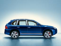 2006 Porsche Cayenne Turbo - porsche cayenne turbo s marineblau perleffekt autocar regeneration