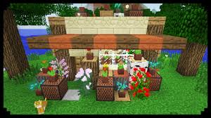florist shop minecraft how to make a flower shop