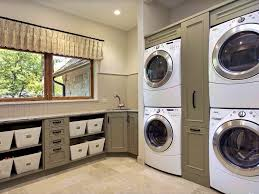how to design a laundry room to make it look more attractive and