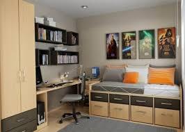 bedroom exquisite single storage bed black floating bookshelves