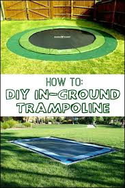 How To Make A Backyard Movie Theater Best 25 Trampoline Ideas Ideas On Pinterest Backyard Trampoline