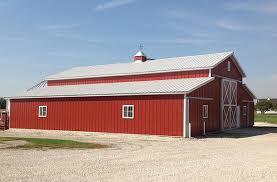 Red Barn Boarding Williams Ia Animal Boarding Facility Building Lester