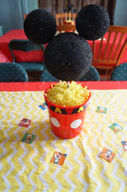 mickey mouse center pieces mickey mouse clubhouse birthday party decorations