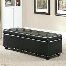 leather storage ottoman bench u2013 valuework info
