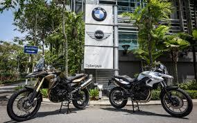 bmw f700gs malaysia bmw motorrad s brand f 700 gs and refreshed f 800 gs enduros