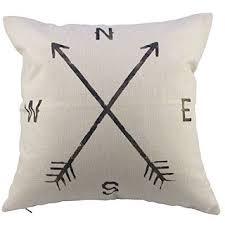 Burlap Decorative Pillows Koti Beth Rustic Farmhouse Decor From Amazon