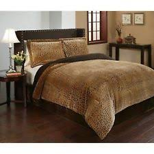 Leopard Print Duvet Animal Print Bedding Ebay