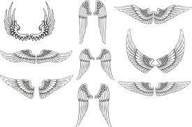 free vector wings pack by artamp on deviantart