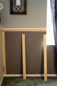 Diy Chair Rail Wainscoting Best 25 Chair Railing Ideas On Pinterest Two Tone Walls Two