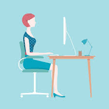 Computer Desk Posture Align Yourself With A Good Sitting Posture The Columbian