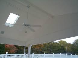 vinyl porch ceiling home design styles