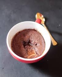 lindt chocolate lava mug cake i knead to eat