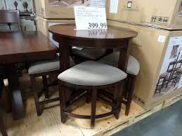 costco kitchen furniture universal furniture blair counter height dining set costco for