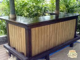 Backyard Tiki Bar Ideas How To Build A Tiki Bar With A Thatched Roof Tiki Bars