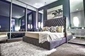 Mirror Bed Frame Luxury Bedroom With Wall Mirrors And Purple Bed Frame Choose A
