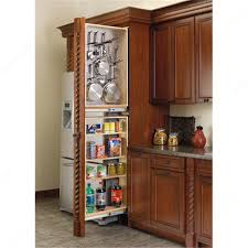 pull out tall kitchen cabinets tall filler pull out with magnetic stainless steel pegboard panel