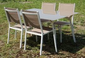 Salon De Jardin Palette by Salon De Jardin Aluminium Et Verre U2013 Qaland Com