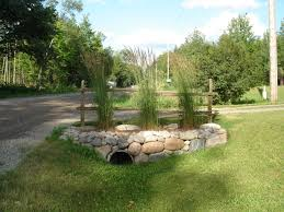 curb appeal over culvert three gardens galore pinterest