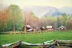 Tennessee landscapes images Simply tennessee painting by don evans jpg