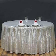 sequin tablecloth rental silver table cloth littlelakebaseball