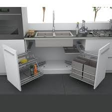 Best Under Sink Kitchen Storage Images On Pinterest Under - Kitchen sink cupboard