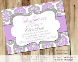 lavender baby shower lavender baby shower invitations party xyz