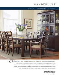 thomasville wanderlust dining room by cadieux u0026 company issuu